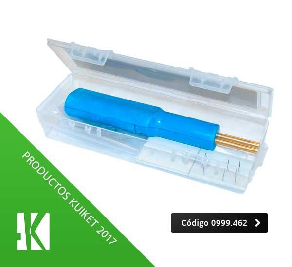 Kit soldadura en plásticos con grapas de acero