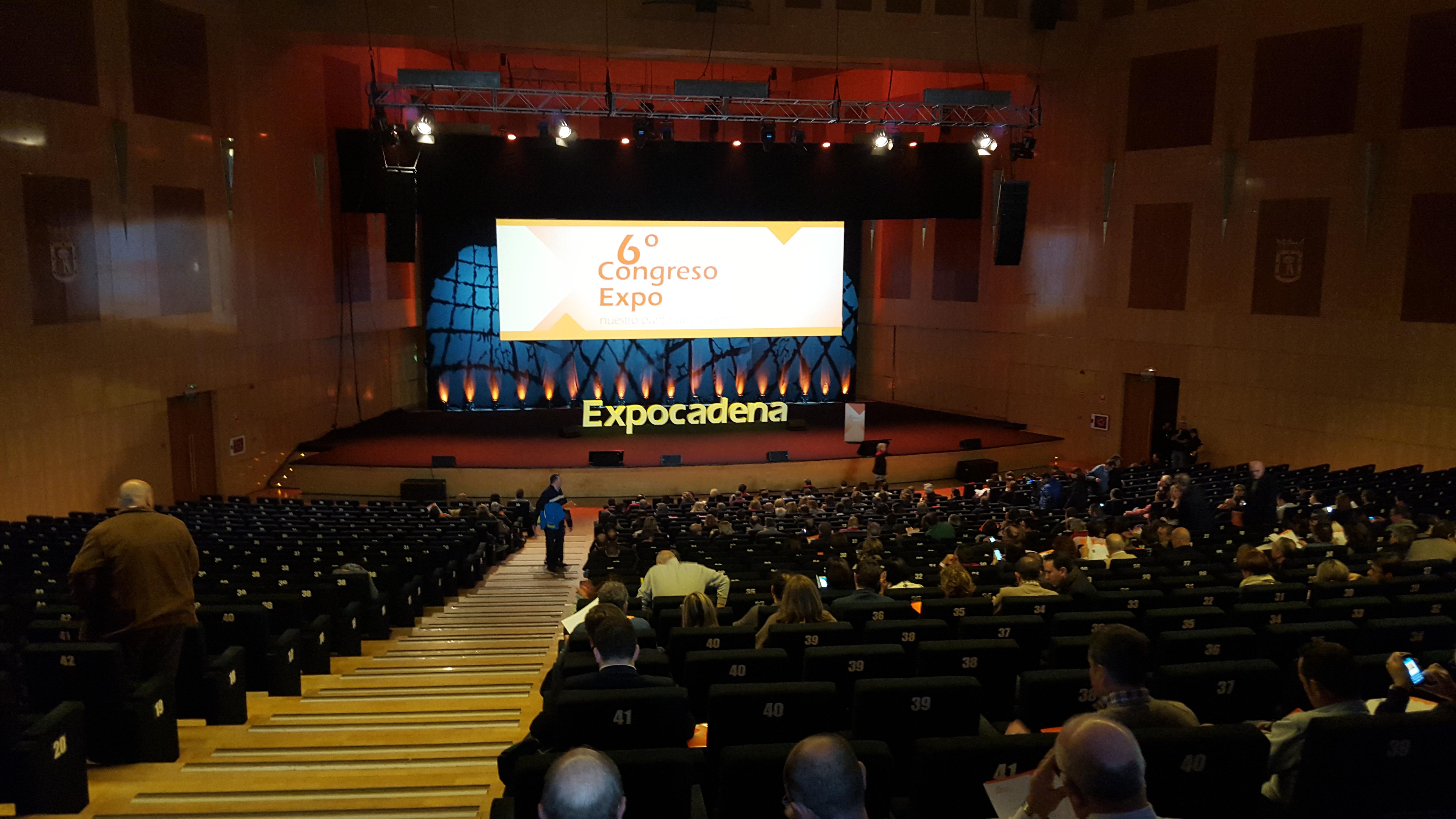 foto del 6º congreso de ExpoCadena