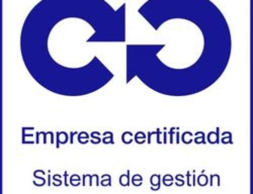 Kuiket certificado con la norma UNE-EN ISO 9001:2015