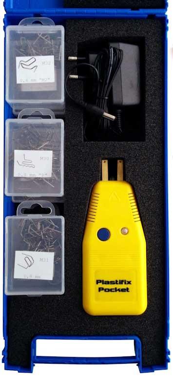 Maletín del kit inalámbrico para soldadura en plástico