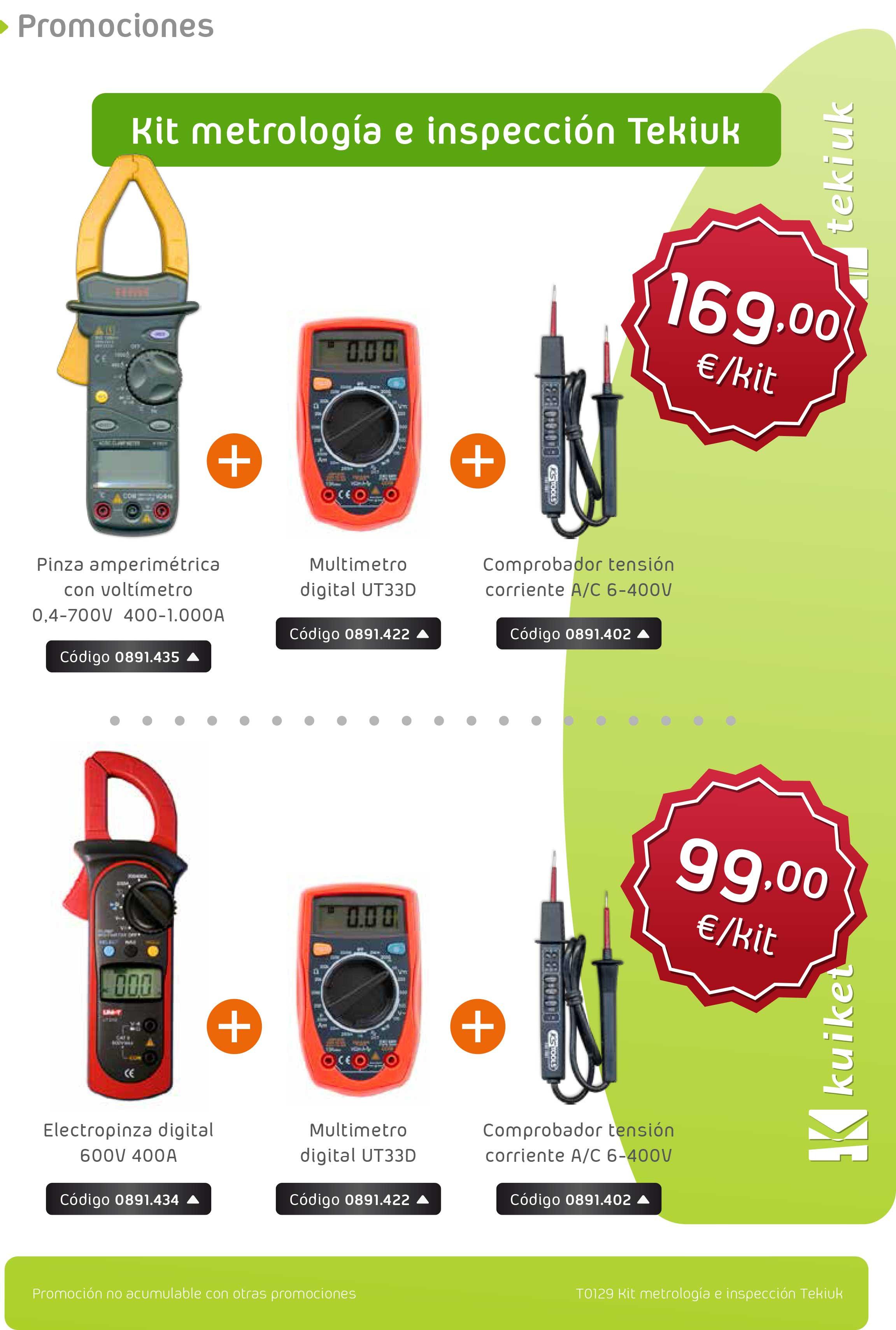 T0129 Kit metrología e inspección
