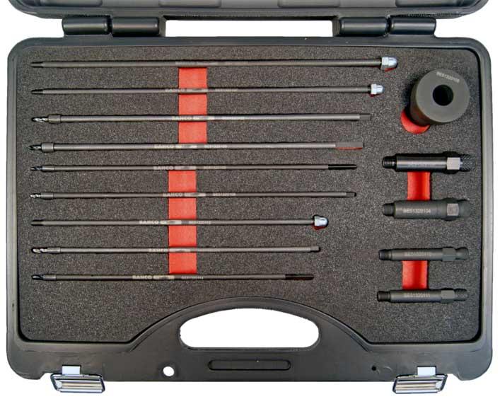 Conjunto de extracción de electrodos de calentadores
