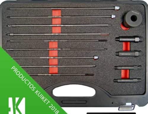 Conjunto para la extracción de electrodos de calentadores