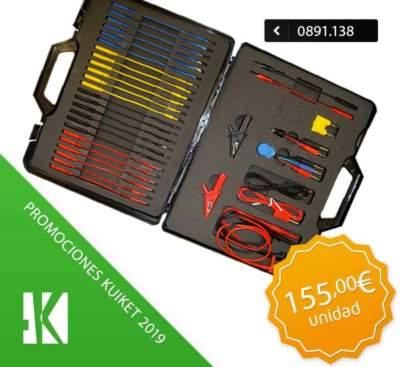 Kit cableado y comprobación de circuitos eléctricos